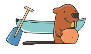 castor canoe tourbillon