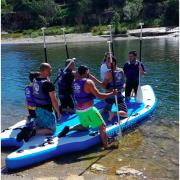 Giant paddle @ tourbillon
